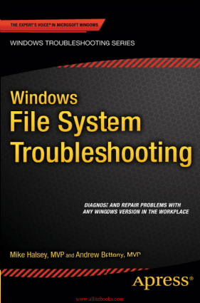 Free Download PDF Books, Windows File System Troubleshooting