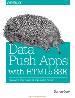 Data Push Apps With HTML5 Sse, Pdf Free Download
