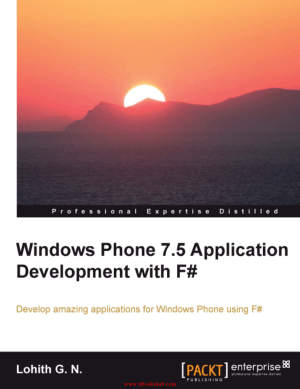 Windows Phone 7.5 Application Development with F-
