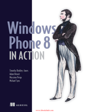 Free Download PDF Books, Windows Phone 8 in Action