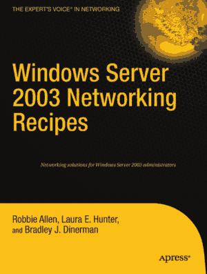 Free Download PDF Books, Windows Server 2003 Networking Recipes