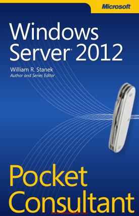 Free Download PDF Books, Windows Server 2012 Pocket Consultant