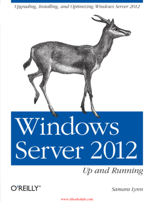 Free Download PDF Books, Windows Server 2012 Up and Running