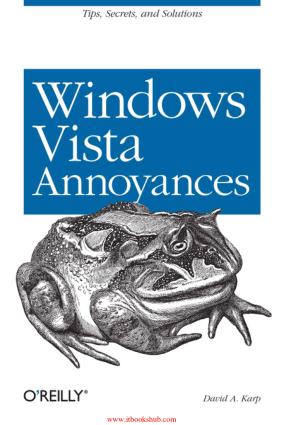 Free Download PDF Books, Windows Vista Annoyances