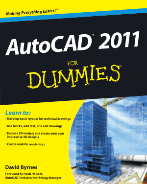 Free Download PDF Books, AutoCAD 2011 For Dummies