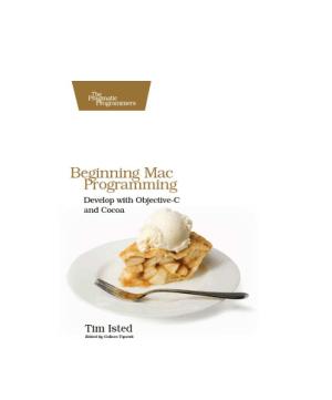 Beginning Mac Programming, Pdf Free Download