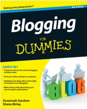 Blogging For Dummies 4th Edition Book