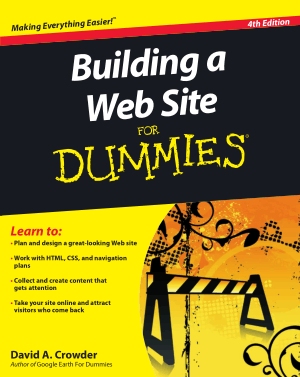Building A Web Site For Dummies 4th Edition