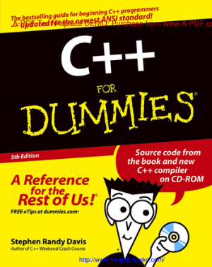 C++ For Dummies 5th Edition Book