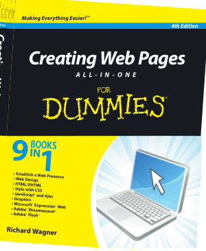 Free Download PDF Books, Creating Web Pages All In One For Dummies 4th Edition Book