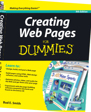 Creating Web Pages For Dummies 9th Edition Book
