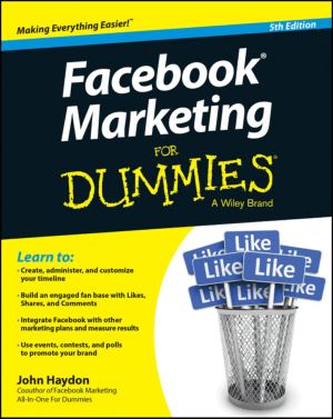 Free Download PDF Books, Facebook Marketing For Dummies 5th Edition Book