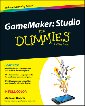 Free Download PDF Books, Game Maker Studio For Dummies