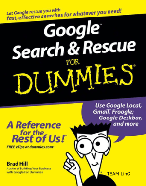 Free Download PDF Books, Google Search And Rescue For Dummies