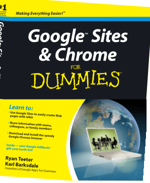 Free Download PDF Books, Google Sites And Chrome For Dummies