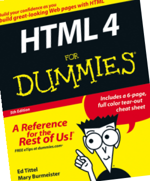 HTML 4 For Dummies 5th Edition Book