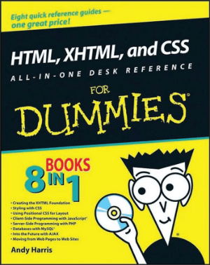 Free Download PDF Books, HTML XHTML And CSS All In One Desk Reference For Dummies