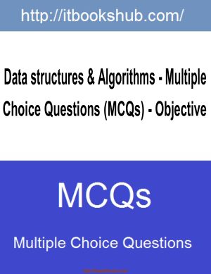 Data Structures Algorithms Multiple Choice Questions MCQs, Pdf Free Download