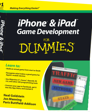 Free Download PDF Books, iPhone And iPAD Game Development For Dummies