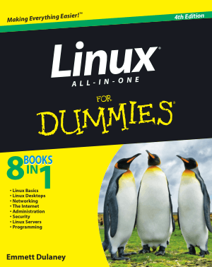 Linux All In One For Dummies 4th Edition Book