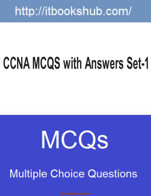 Ccna Mcqs With Answers Set1, Pdf Free Download