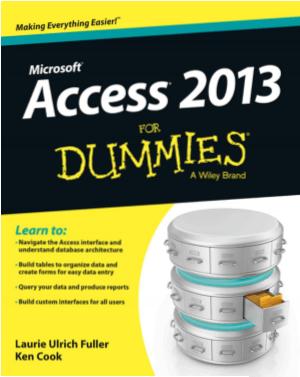 Microsoft Access 2013 For Dummies