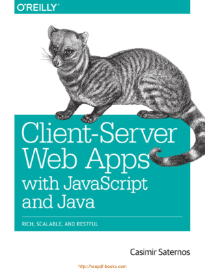 Client Server Web Apps With JavaScript And Java, Pdf Free Download