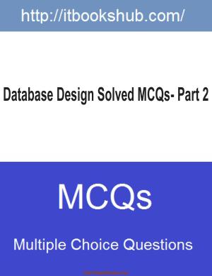 Database Design Solved Mcqs Part 2