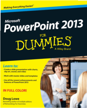 Free Download PDF Books, Microsoft Powerpoint 2013 For Dummies