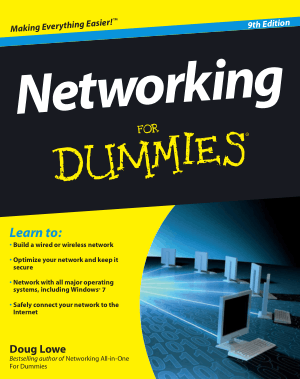 Free Download PDF Books, Networking For Dummies
