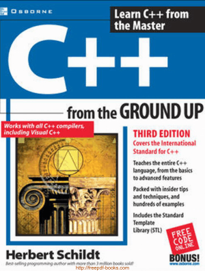 C++ From The Ground Up Third Edition Book, Pdf Free Download