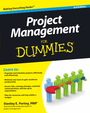 Free Download PDF Books, Project Management For Dummies 3rd Edition Book