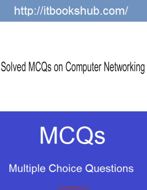 Free Download PDF Books, Solved MCQs On Computer Networking