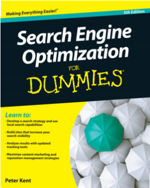 Search Engine Optimization For Dummies 5th Edition Book