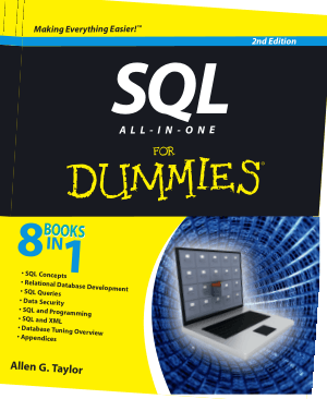 SQL All In One For Dummies 2nd Edition Book
