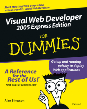 Free Download PDF Books, Visual Web Developer 2005 Express Edition For Dummies