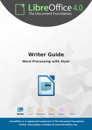 Writer Guide Word Processing With Style