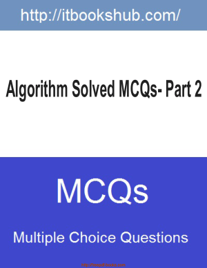 Algorithm Solved Mcqs Part 2