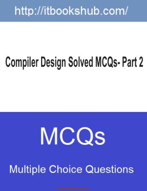 Free Download PDF Books, Compiler Design Solved Mcqs Part 2