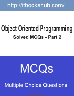 Object Oriented Programming Solved MCQs Part 2
