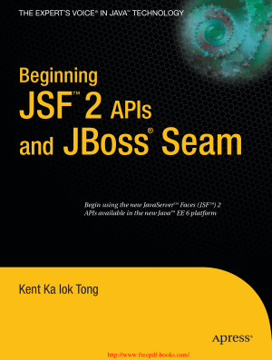 Beginning JSF 2 APIs and JBoss Seam –, Ebooks Free Download Pdf