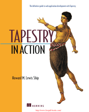 Tapestry in Action – PDF Books