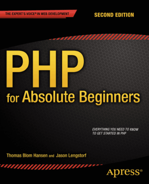 PHP for Absolute Beginners 2nd Edition – PDF Books