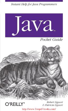 Java Pocket Guide –, Java Programming Book