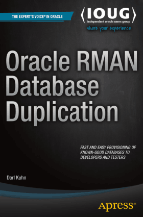 Oracle RMAN Database Duplication – PDF Books