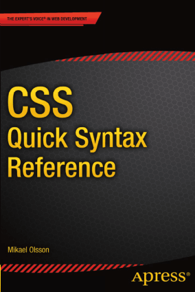 CSS Quick Syntax Reference –, Drive Book Pdf