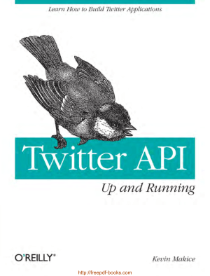 Twitter API Up And Running