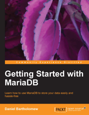 Getting Started with MariaDB – PDF Books