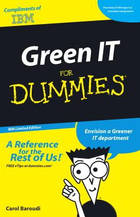 Green IT For Dummiess – PDF Books