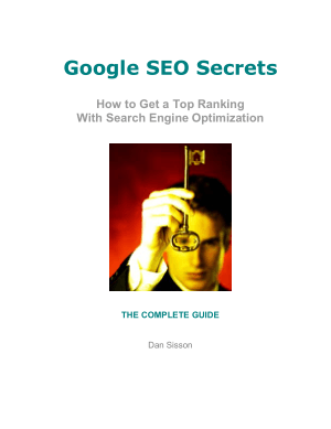 Google SEO Secrets 2006 – PDF Books